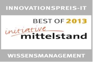 """Blog: """"Best-of""""-Lösung in der Kategorie WISSENSMANAGEMENT"""